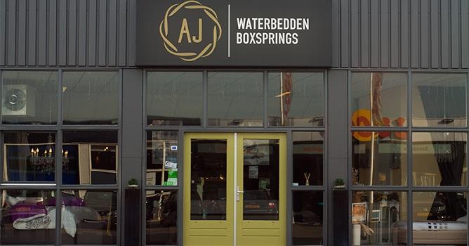 Showroom AJ Waterbedden Enschede